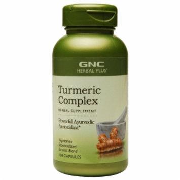 Gnc GNC Herbal Plus Turmeric Complex, Capsules, 100 ea