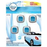 Febreze Car Vent Clips - Linen & Sky - 4 pk.