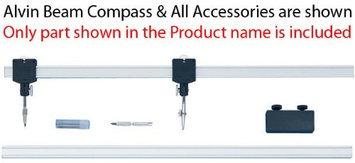 Alvin 61C Channel Beam Bar Compass Ruling Pen Leg