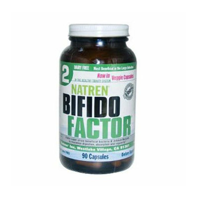 Natren Bifido Factor Dairy Free 90 Capsules