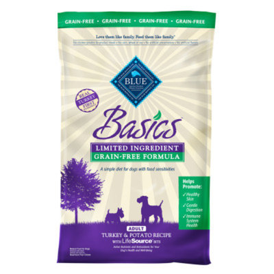 Blue Buffalo BLUE BasicsTM Sensitive Solution Formula Grain Free Adult Dog Food