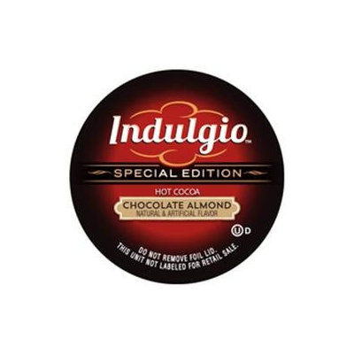 Indulgio Almond Chocolate Hot cocoa Single Serve Cups For Keurig K Cup Brewer, 12 Count