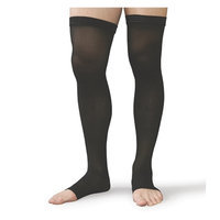Therafirm Moderate Support Open-Toe Thigh-Highs Small