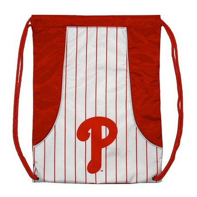 Concept One MLB Philadelphia Phillies Team Color Back Sack - School Supplies