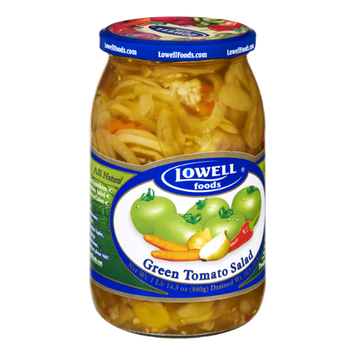 Lowell Foods All Natural Green Tomato Salad