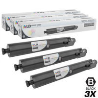 LD Compatible Replacements for Ricoh 841679 (841751) 3PK Black Laser Toner Cartridges for use in Ricoh Aficio, Savin, and Lanier MP C4502, MP C4502A, MP C5502, and MP C5502A Printers