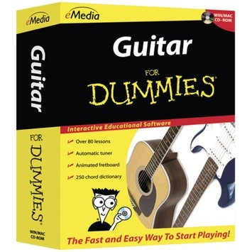 Emedia Guitar for Dummies for PC/Mac CD
