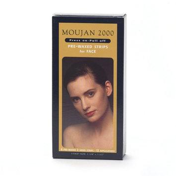 Moujan 2000 Pre-Waxed Strips for Face