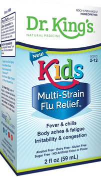 Kids Flu Relief Dr King Natural Medicine 2 fl oz (59 mL) Liquid
