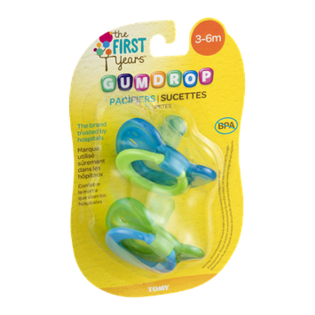 The First Years Gumdrop Pacifiers 3-6 Months