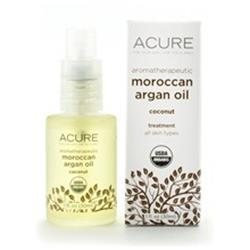 Aromatherapeutic Argan Oil Coconut Acure Organics 1 oz Oil
