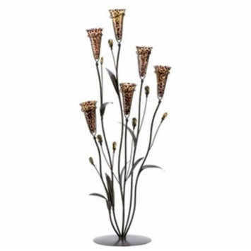 Eastwind Gifts d1116 Leopard Lily Blossom Candle Tree
