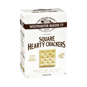 Westminster Bakers Co. Square Hearty Crackers
