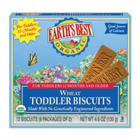 Earth's Best Organic Wheat Teething Biscuts
