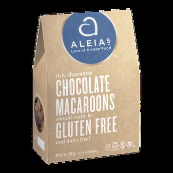Aleia's Chocolate Macaroons Gluten Free