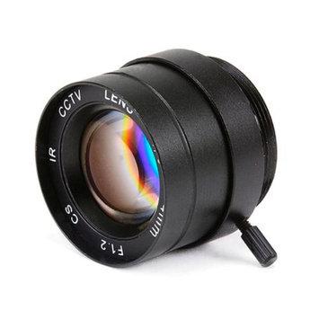 Monoprice 1/3 Inch 4mm IR F1.2 Fixed Iris CS Mount Lens W/IR Correction