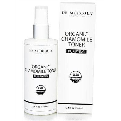 Mercola Usda Certified Organic Chamomile Purifying Toner - 3.4 Fluid Ounces Liquid - Toners & Astringents