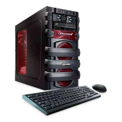 CybertronPC 5150 Escape TGM2222A Gaming PC - AMD FX-4100 3.60GHz, 8GB DDR3, 500GB HDD, AMD Radeon HD 6670, DVDRW, LED Fa