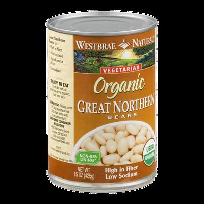 Westbrae Natural Vegetarian Organic Beans Great Northern