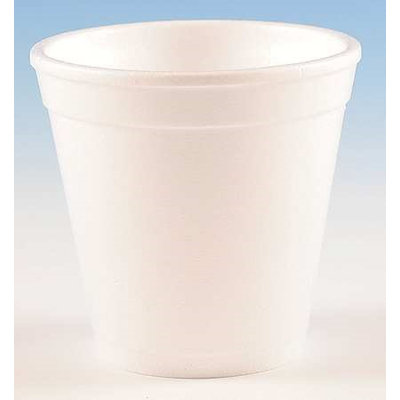 WINCUP 4C4W Disp. Cold/Hot Cup,4 oz, White, PK1000
