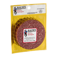 Baum's Old-Fashioned Sweet Bologna