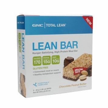 GNC Total Lean Bar, Chocolate Peanut Butter, 5 ea