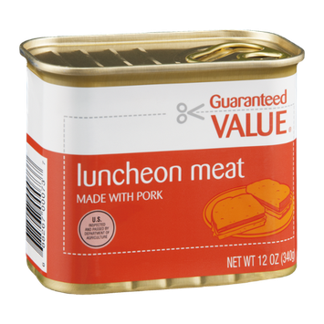 Guaranteed Value Luncheon Meat