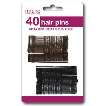 Milano Salon Essentials Bobby Pins, 40-Count