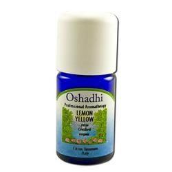 Oshadhi - Essential Oil, Lemon Yellow Extra Organic, 5 ml