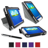 rooCASE Samsung Galaxy Tab 3 7.0 Case - Origami Stand Tablet Case - BLACK