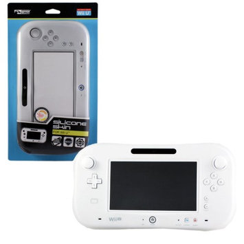 Komodo KMD Silicone Protective Skin Case For Wii U GamePad - White