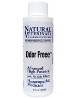 Natural Veterinary Pharmaceuticals Odor Freee 4 oz