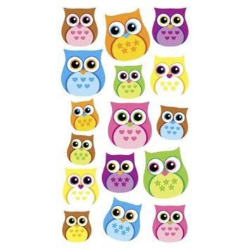 EK Success Sticko Owl Stickers