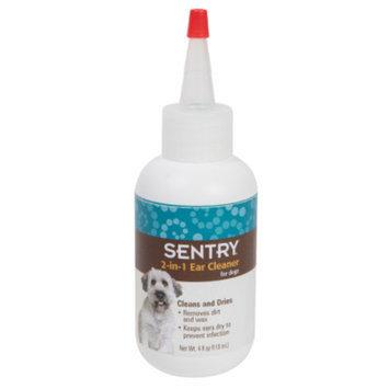 Sentry SENTRYA 2-In-1 Dog Ear Cleaner