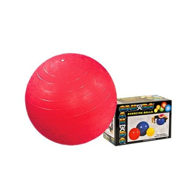 CanDo Inflatable Ball, Red, 30 Inch, Boxed
