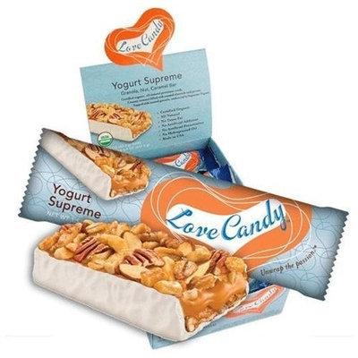 Love Candy, Bar Yogurt Supreme Org, 1.5 OZ (Pack of 15)