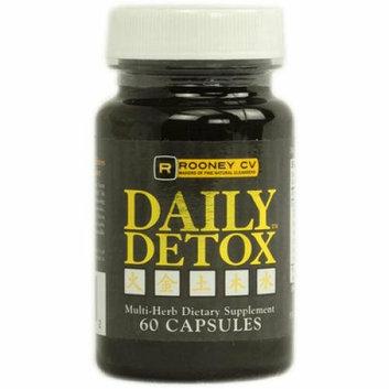 Wellements 1071216 Rooney CV Daily Detox Multi Herb - 60 Capsules