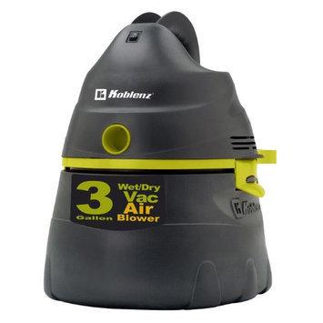 Koblenz 3-Gallon Wet Dry Vacuum