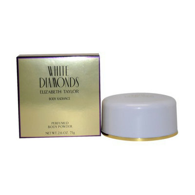 White Diamonds Women's  by Elizabeth Taylor Satin Body Talc - 3 oz