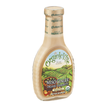 Organic Ville Organic Vinaigrette Miso Ginger