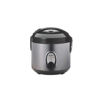 Sunpentown SC-1201S 6 Cup Rice Cooker With Stainless Steel Body