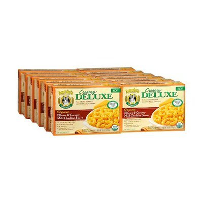 Annie's Homegrown Organic Creamy Deluxe Macaroni Dinners 12 Pack