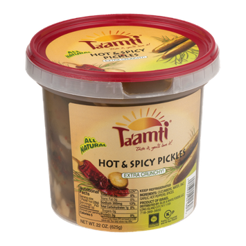 Ta'amti Hot & Spicy Pickles Extra Crunchy