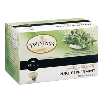 Twinings of London Pure Peppermint Tea K-Cups