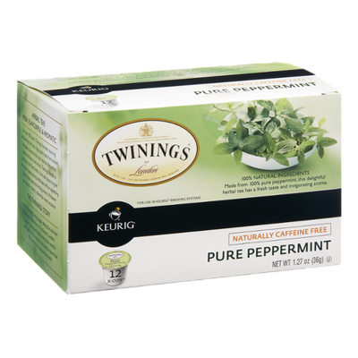 Twinings of London Pure Peppermint Tea K-Cups