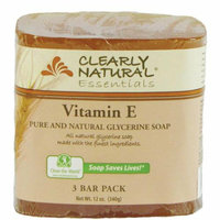 Clearly Naturals Clearly Natural Bar Soap Vitamin E 3 Pack 4 oz