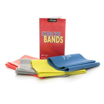 J-Fit Flat Resistance Exercise Bands
