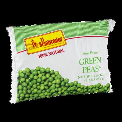 El Sembrador Fresh Frozen Green Peas