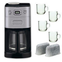 Refurbished Cuisinart DGB-650BC Refurbished Grind-and-Brew Thermal 10-Cup Coffeemaker + Repl