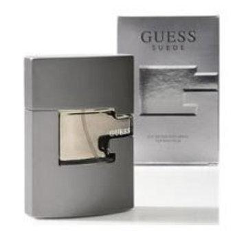 Guess Suede Gift Set 3 Pieces With 2.5 Fl.Oz. Eau De Toilette Spray+5.0 Oz. Body Wash+5.0 Oz. After Shave Balm By Parlux - Mens Cologne
